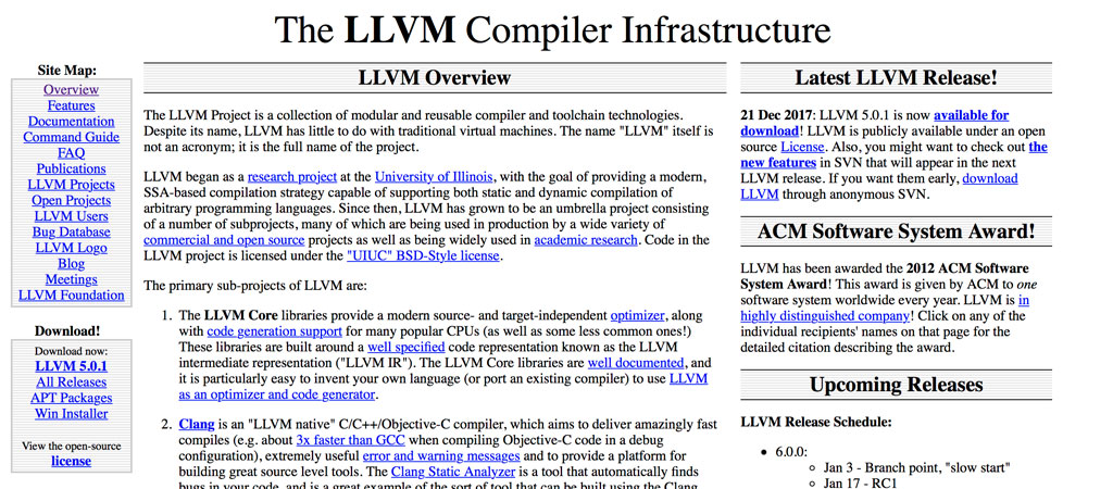 The LLVM Website