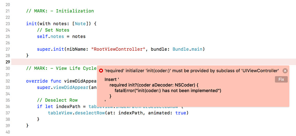 Xcode offers a solution.