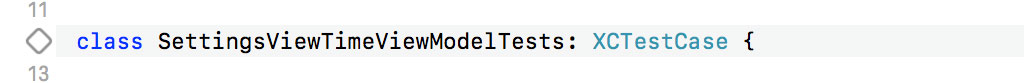 Running Unit Tests of a XCTestCase Subclass