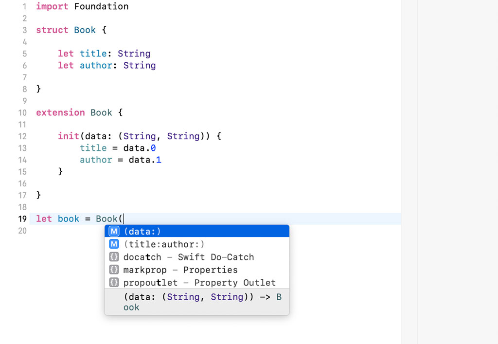 Defining a Custom Initializer In an Extension